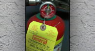 Properly Inspected Extinguisher