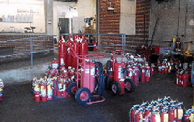 General Fire Equipment Co , Inc  provides fire extinguisher