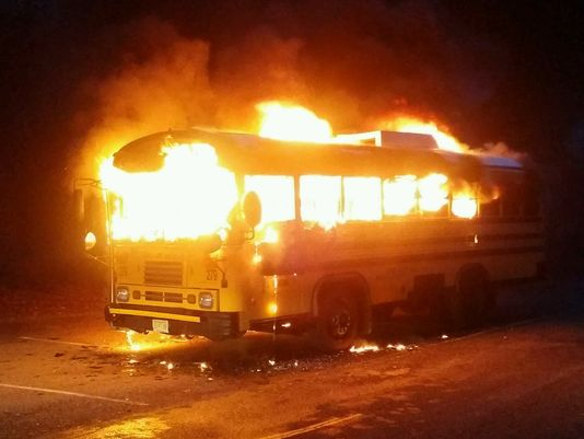 Toms River Bus Fire